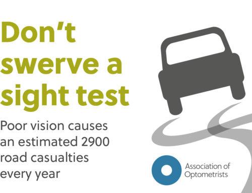 Don't swerve an eye test